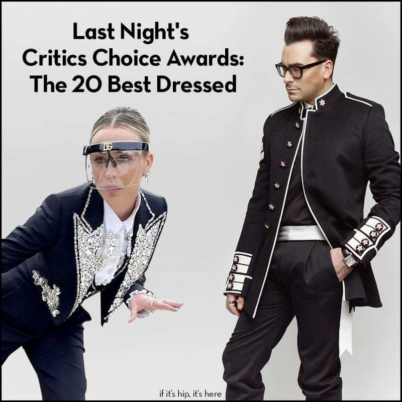 Critic's Choice Best Dressed