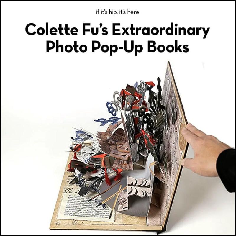 colette fu pop-up books