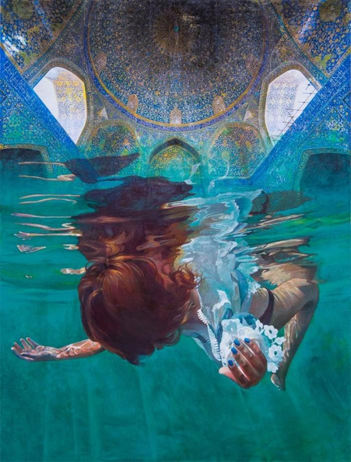 Ivana Zivic rooms of water paintings