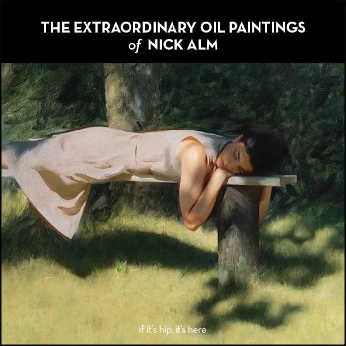 Oil Paintings Nick Alm