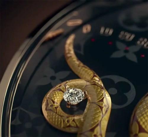 Read more about the article Louis Vuitton Vanitas-Inspired Tambour Carpe Diem Watch