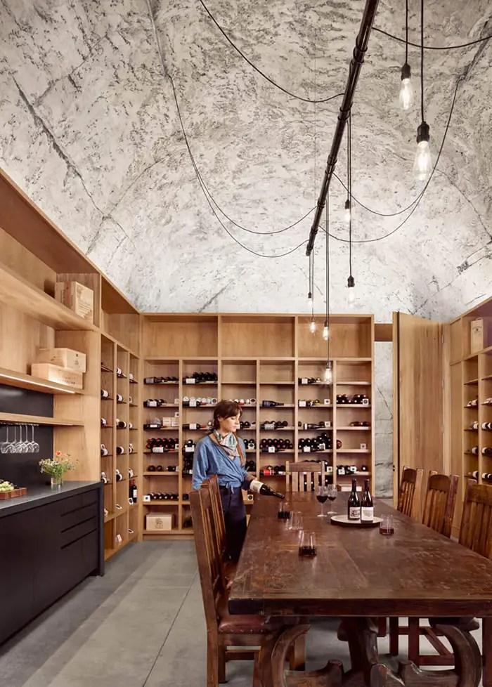 inside wine cave 1