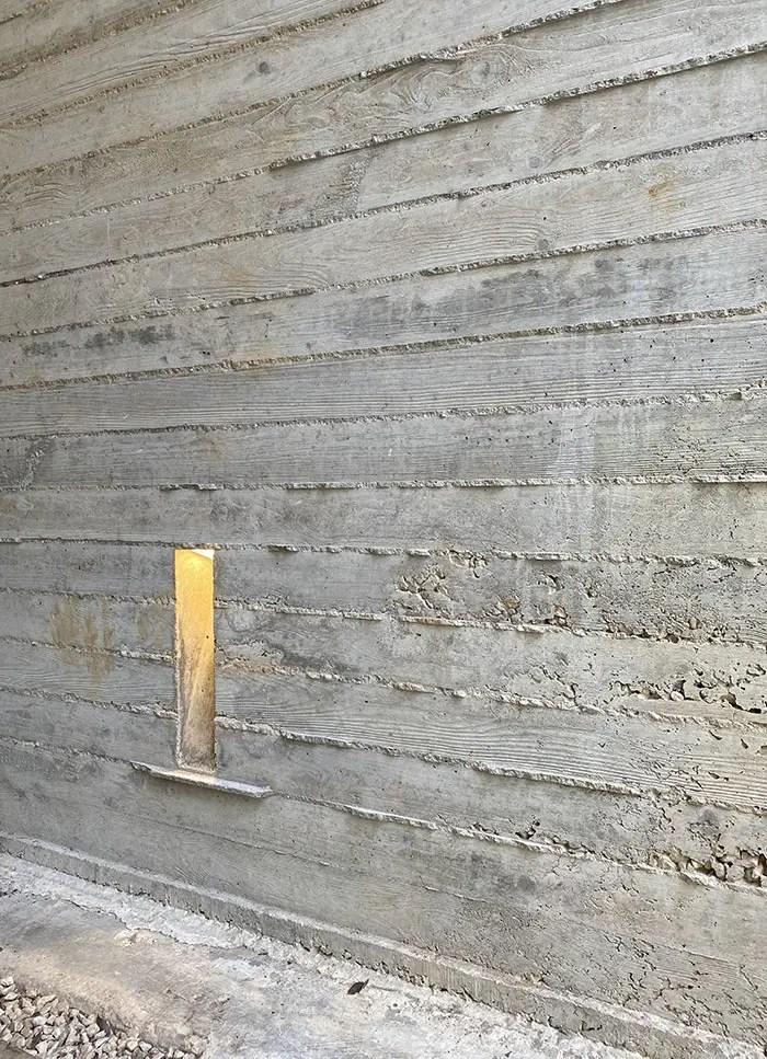 wine cave concrete