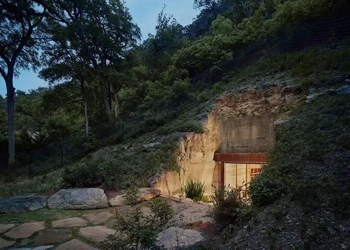 wine cave exterior