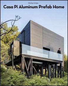 Get a look at Casa Pi, the first All Aluminum Prefab Home
