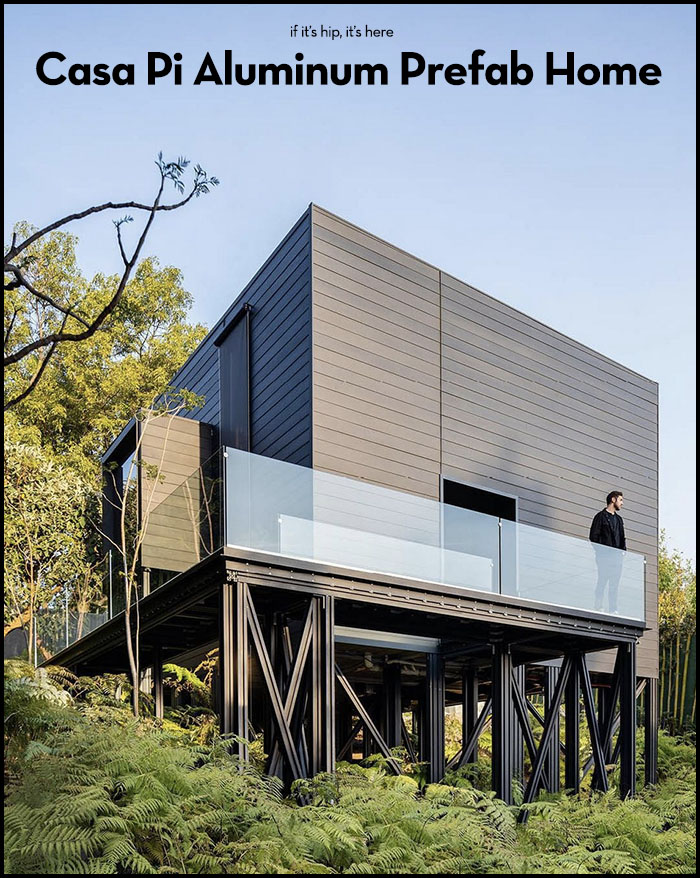 Read more about the article Get a look at Casa Pi, the first All Aluminum Prefab Home