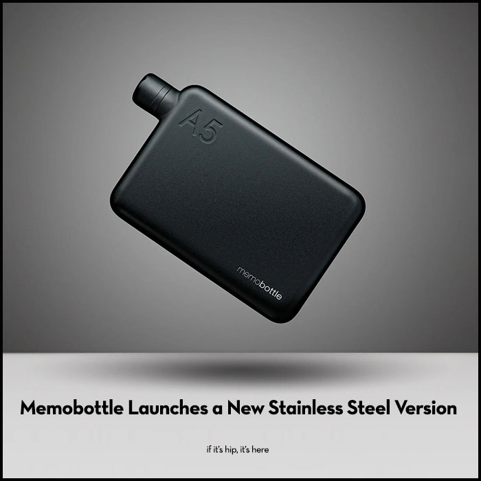 Read more about the article New Stainless Steel Memobottle Improves Upon What Was Already Great.