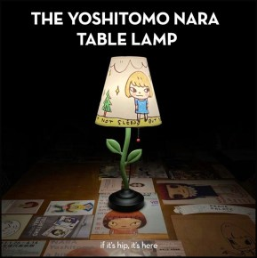 The Yoshitomo Nara Table Lamp and Where You Can Get It.
