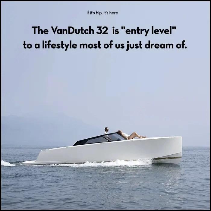 vandutch 32 entry level yacht