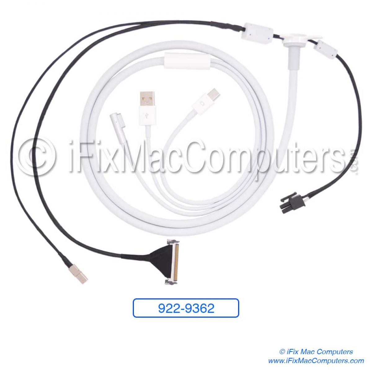 922-9362 Cable All In One, LED Cinema Display 27inch A1316