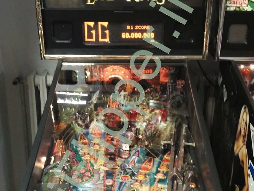 Pinball The Lord of The Rings