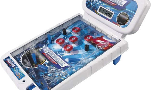 Pinball Racing: ecco un mini flipper da corsa