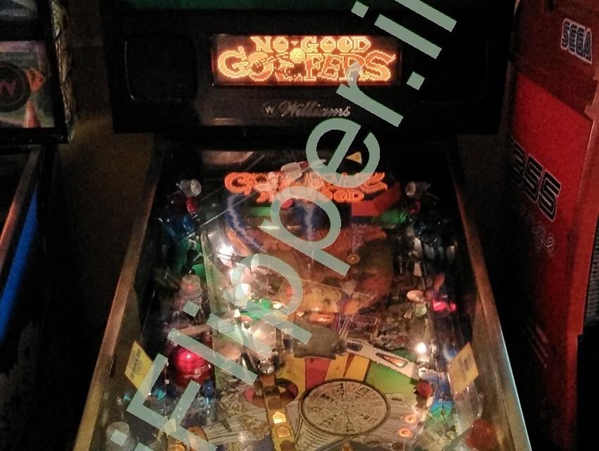 Pinball No Good Gofers