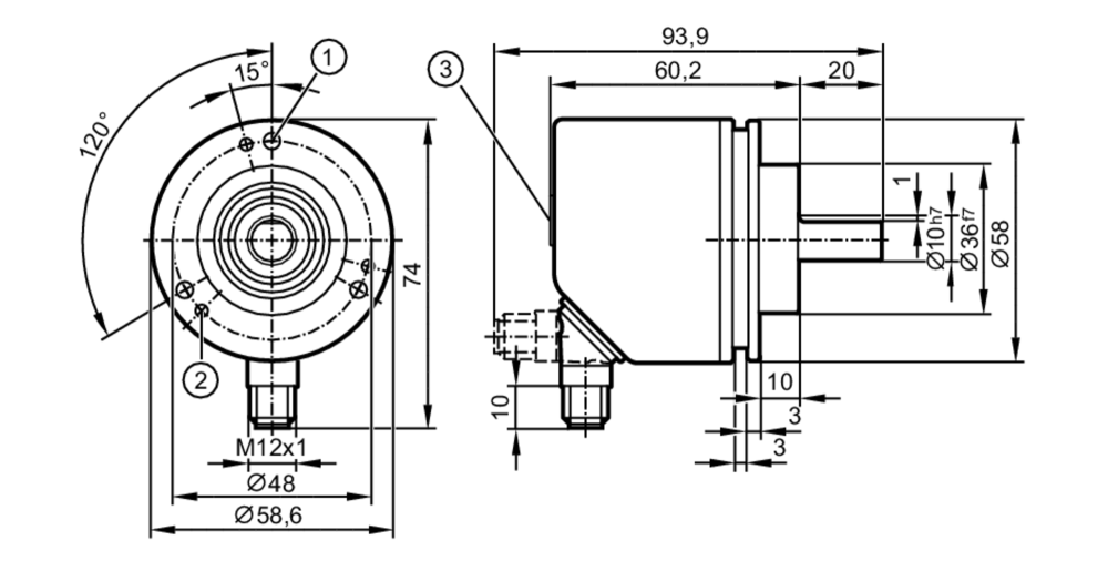 medium resolution of incremental encoder performance line scale drawing