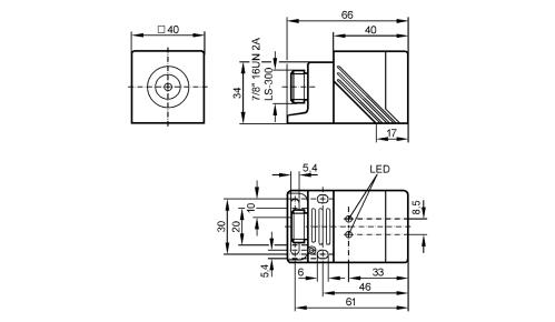 small resolution of im0042 inductive sensor ifm electronic 3 wire sensor diagram ifm proximity sensor wiring diagram