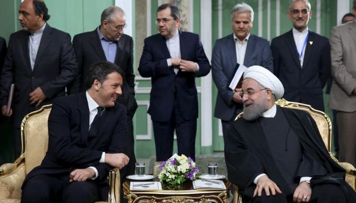 ifmat - Italy's Renzi signs potentially huge business deals in Iran