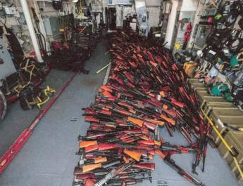 ifmat - Arms Made in Iran Seized Off Coast of Yemen