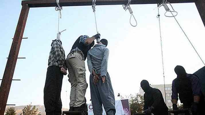ifmat - Hundres Protesting in Iran Against the Death Penalty