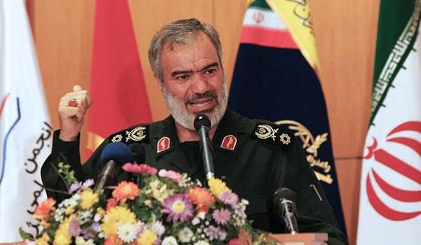 ifmat - IRGC Navy Commander Iran ready to give crushing, appropriate response to threats