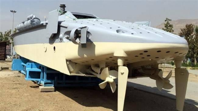 ifmat - IRGC Navy showcases long-range fast cruising vessel 1