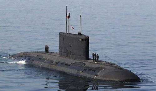 ifmat - Iran New Submarine Launched - Threat to civilian shipping and military vessels