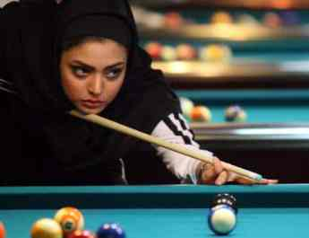 ifmat - Iranian Female Billiard Players Banned From Competing in Iran