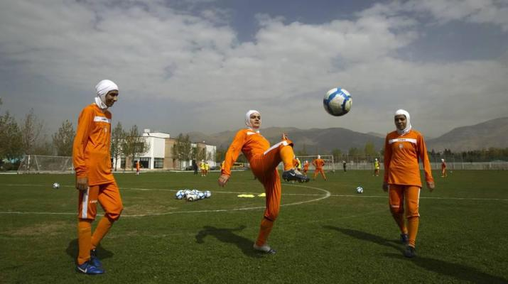 ifmat - Iranian soccer star banned for not wearing hijab in exhibition game