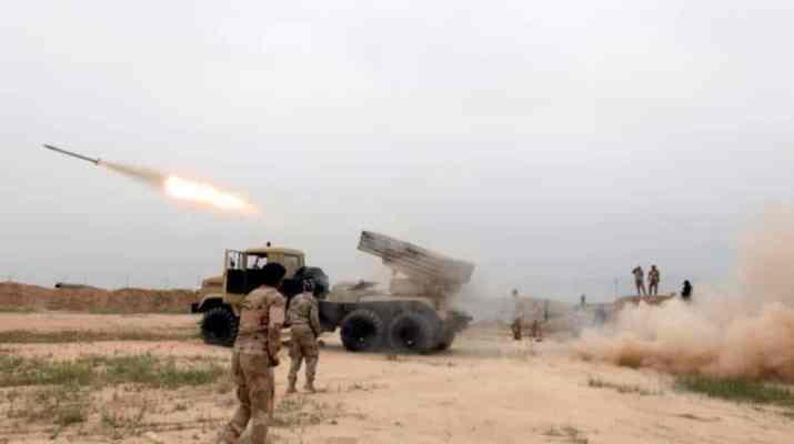 ifmat - Iranian-backed militia offensive raises tensions near Turkish border of Iraq