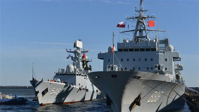 ifmat - China naval group to berth at Iran port