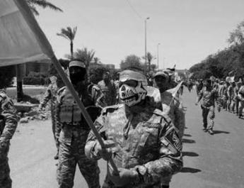 ifmat - Iran Regimes Iraqi Mercenaries Committing Crimes in Mosul