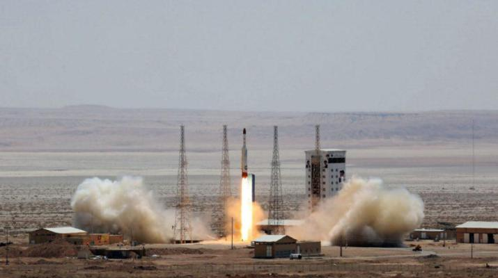 ifmat - Iran says it has launched a satellite-carrying rocket into space