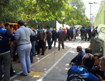 ifmat - Telecommunications Employees on Strike in Several Cities in Iran