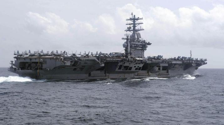 ifmat - US Navy fires warning shot near Iranian vessels