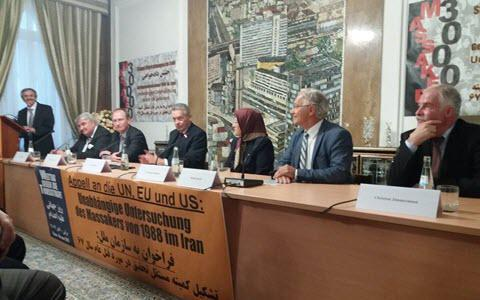 ifmat - Conference held in support of justice seeking movement in Berlin