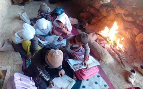 ifmat - Schools in Iran heated with firewood