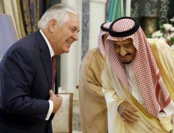 ifmat - Tillerson encourages Gulf allies in push to weaken Iran regime