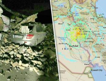ifmat - 61 dead, 300 injured from quake in Iran