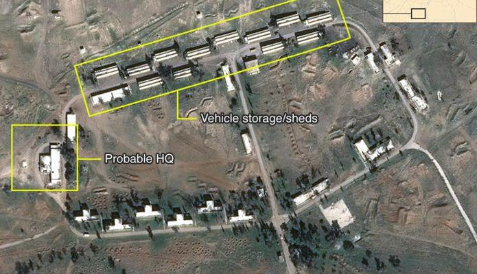 ifmat - Iran building permanent military base in Syria