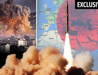 ifmat - Europe facing WIPE-OUT as countries in Iran missile range revealed