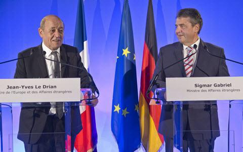 ifmat - France and Germany Iran must stop destabilisign the Middle East