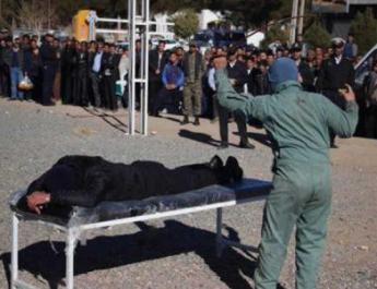 ifmat - Man publicly flogged in northeastern Iran for getting in street fight