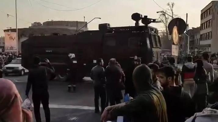 ifmat - At least 10 shot dead on the Iranian protests