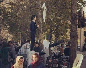 ifmat - Brutal Iranian regime beats female protesters1