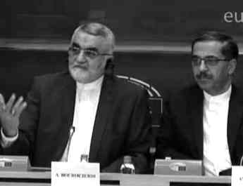 ifmat - EU under fire for meeting with Iranian MP involved in holocaust denial