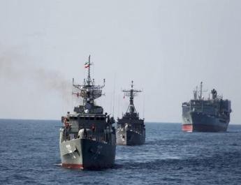 ifmat - Iran navy held annual drill near key Strait of Hormuz