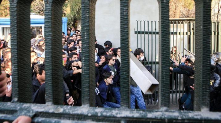ifmat - Iran protests and death toll grow as tension rises
