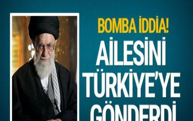 ifmat - Iranian supreme leader moved his family to Turkey for safety