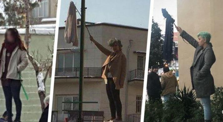 ifmat - Womens in Iran risk of long jail terms for peacefully protesting