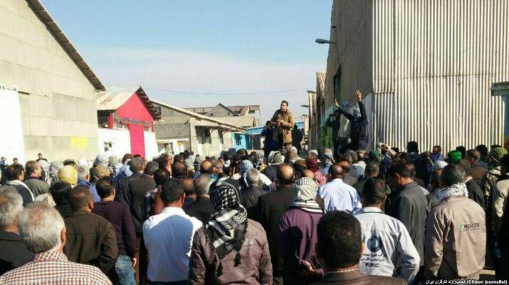 ifmat - Workers arrested in Iran for demanding unpaid wages