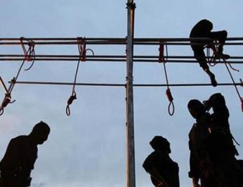 ifmat - mass executon of 10 prisoners in Iran